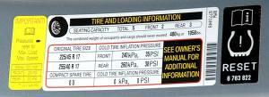 tire presure